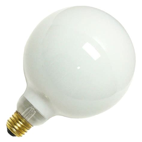 halco 05206 g40wh100 g40 decor globe light bulb