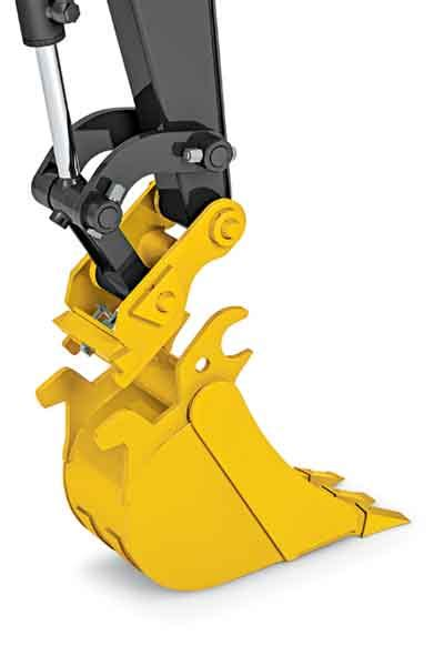 john deere introduces  hydraulic coupler  compact excavators utility contractor magazine
