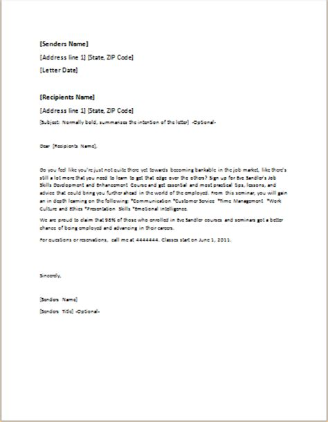 event invitation letter template  word  formal