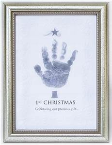 First Christmas Handprint Frame