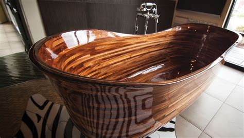 a seattle woodworker is turning bathtubs into works of
