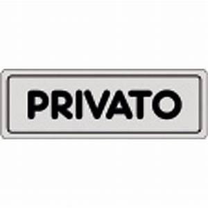 Cartello adesivo, Privato, PVC, 15 x 5 cm Staples®