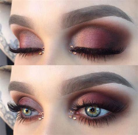 winter themed eye makeup  ideas   modern fashion blog