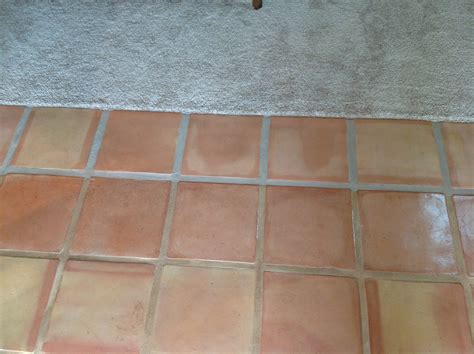 saltillo grout saltillo tile dirty peeling dull california tile refinishing