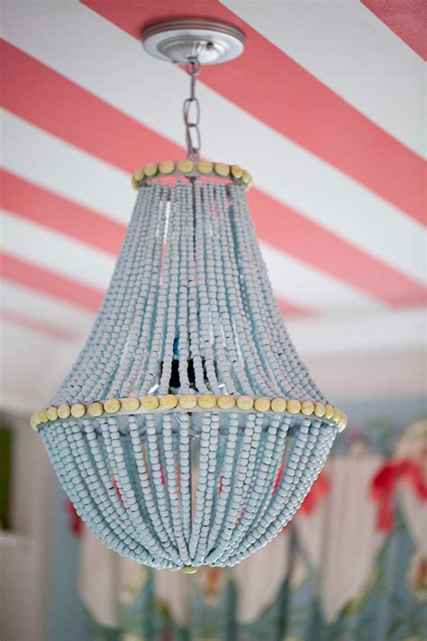 diy beaded chandelier decor hacks