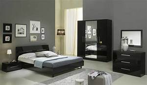 chambre a coucher moderne pas cher collection et chambres With chambre d adulte moderne