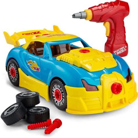 Racing Car Toy For Kids Take Apart Formula With 30 Take
