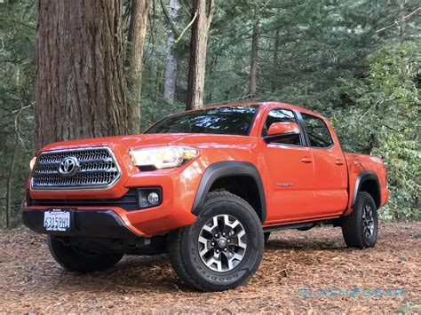 Toyota Tacoma Trd Road by 2016 Toyota Tacoma Trd Road Review Slashgear