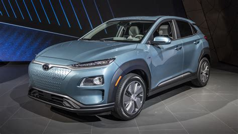 Hyundai Kona Ev Rated For 250 Miles Of Range In Us Specs