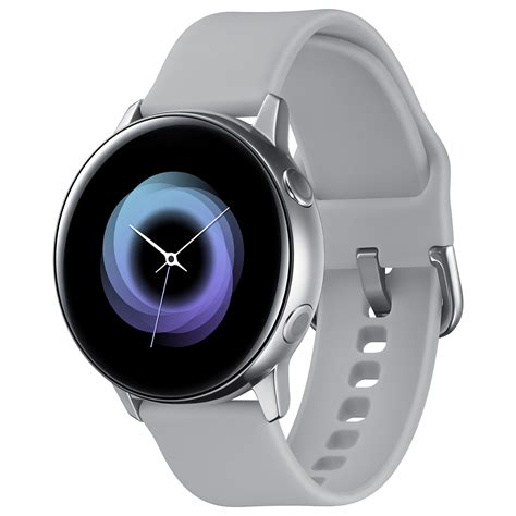 While samsung has not shared any information on. Samsung Galaxy Watch Active Argent - Montre connectée ...
