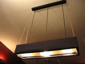 Fluorescent lighting replace light fixture