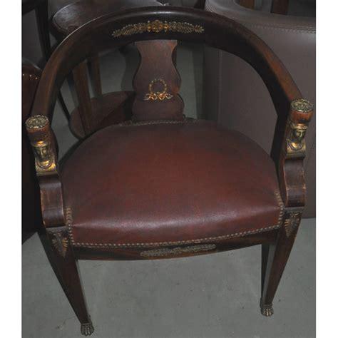 fauteuil de bureau ancien fauteuil de bureau ancien style empire retour d 39 egypte en