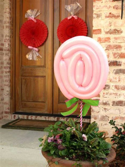 outdoor decorating ideas  hearts   valentines