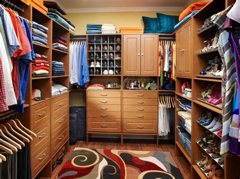 master closet design ideas hgtv
