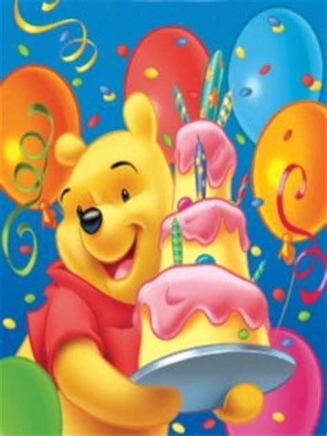 Download Winnie Pooh Birthday 240 X 320 Wallpapers