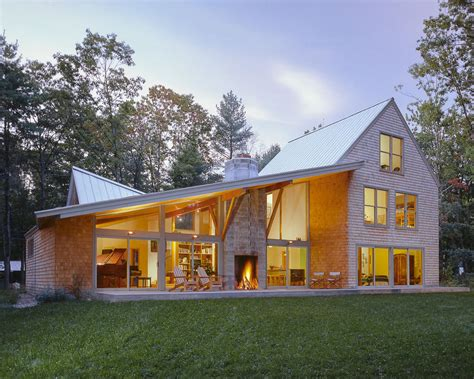 Home Design Portland Maine by While The Front Of This House In Falmouth Maine Is