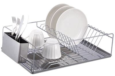 top   stainless steel dish drying racks   reviews