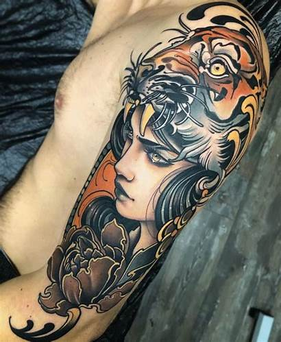 Tattoo Tattoos Traditional Neo Neotraditional Tutto Travail
