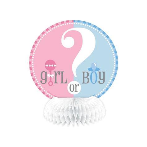 centre de table baby shower future maman boy girl gender