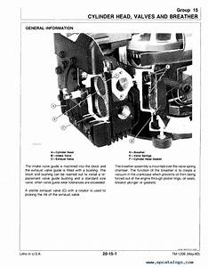 John Deere 108 111 111 U041d 112l 116 Tractors Technical Manual