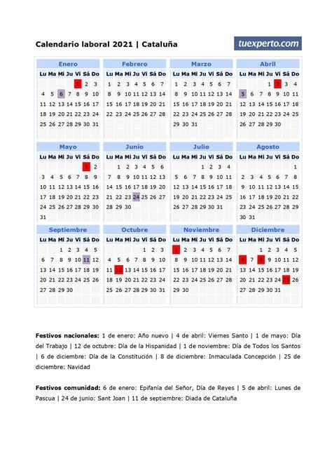 A los días festivos nacionales que hemos visto más arriba, hay que sumarle los días festivos típicos de cada comunidad autónoma. Calendario laboral 2021, calendarios con festivos por comunidad para imprimir
