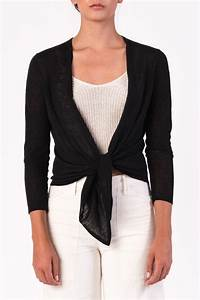 Margaret O'Leary Tie Front Cardigan from Denver — Shoptiques