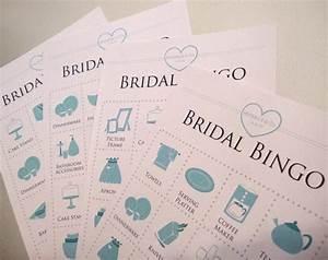 jewelry themed bridal shower bingo cards 4x4 set of 20 With 4x4 wedding invitations