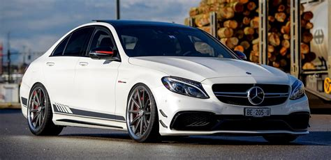 Mercedes C Class Sedan Wallpapers by Mercedes Amg C63 S Edition 1 On Vossen Wheels