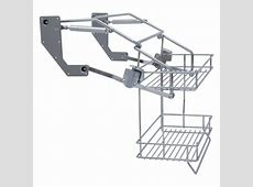 Vibo Pull Down Two Tier Wire Shelves For 500mm Width