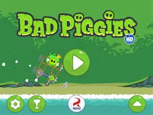 Angry Birds Bad Piggies Game