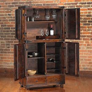 Useful and Cool Mini Bar Cabinet Ideas for Your Kicthen ...