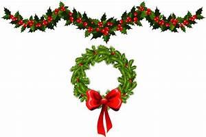 Christmas Garland Clip Art | Sanjonmotel
