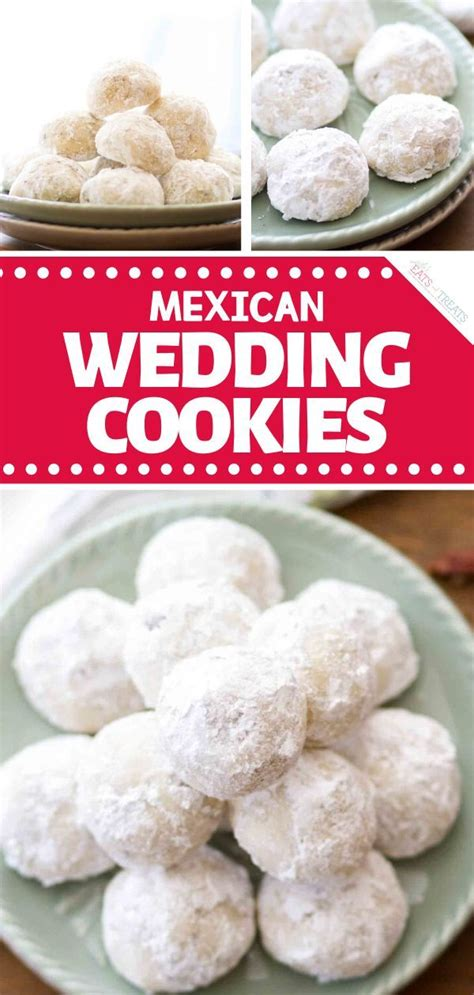 Mexican cinnamon cookies my extended family shares a meal every sunday. Mexican Wedding Cookies   Easy holiday recipes, Mexican wedding cookies, Christmas desserts easy