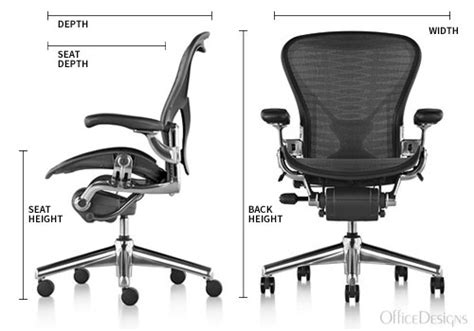 aeron chair highly adjustable certified preowned