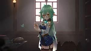 Green, Hair, Sucrose, Hd, Genshin, Impact, Wallpapers