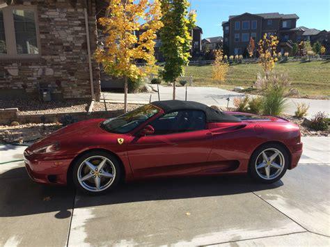 Picture of 2001 ferrari 360 modena rwd. 2001 Ferrari 360 F1 Spider Rosso Fiorano for sale