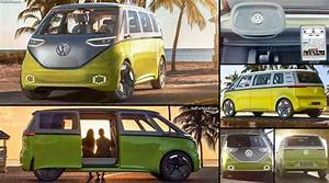 Iconic Volkswagen 'Bus' Gets Big 'Makeover' For 2022 Release