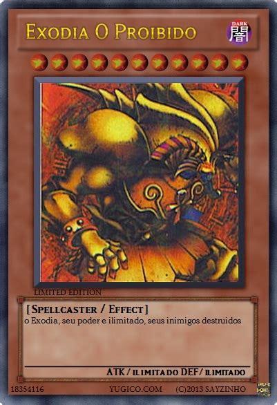yugioh cards exodia