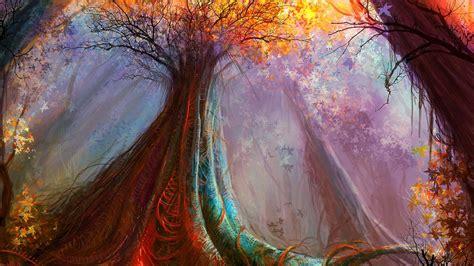 fantasy magic forest hd wallpaper wallpaper studio