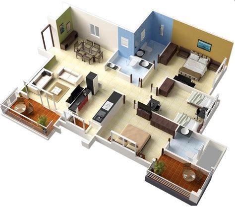 home plans with interior photos single floor 3 bedroom house plans interior design ideas