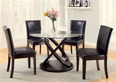 dining table ideal equipped   matching chairs
