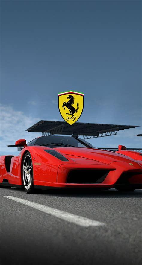 Ferrari logo wallpapers wallpaper cave. Red Ferrari with logo Wallpaper | Car wallpapers, Sports car wallpaper, Ferrari