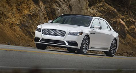 lincoln 2017 car 2017 lincoln continental styling review the car connection