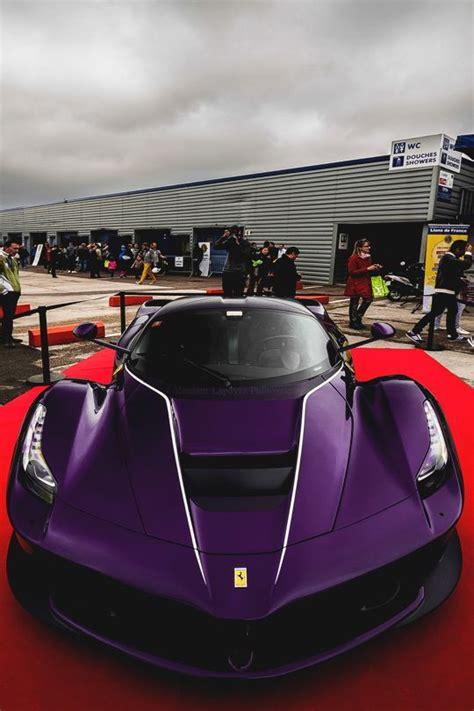 Ferrari photo collection and cars pics. Purple Rarri LaFerrari | Ferrari, Sport cars, Cars