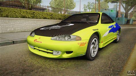 1995 Mitsubishi Eclipse Gsx by Mitsubishi Eclipse Gsx 1995 Hqlm For Gta San Andreas