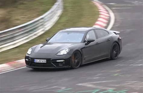 2017 Porsche Panamera Spotted; Lighter Weight, Fresh