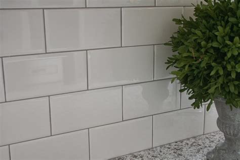 white tile bathroom gray grout amazing tile