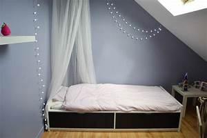 Lit Ikea Avec Tiroir : chambre dans les combles fille maman tout faire ~ Mglfilm.com Idées de Décoration