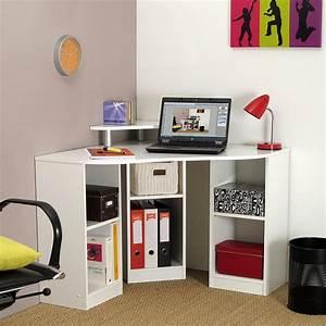 Petit Bureau Angle : le bureau d 39 angle comment le choisir et l 39 installer blog but ~ Teatrodelosmanantiales.com Idées de Décoration