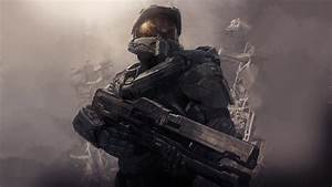 Download Wallpaper 1366x768 2013 game, Halo 4 HD Background